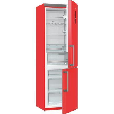 Gorenje koelkast-vriezer: NRK6192MRD - Rood