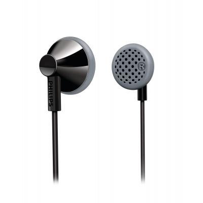 Philips koptelefoon: Oordopjes SHE2000/10 - Zwart, Grijs