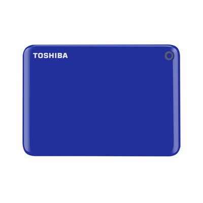 Toshiba Canvio Connect II 1TB Externe harde schijf - Blauw
