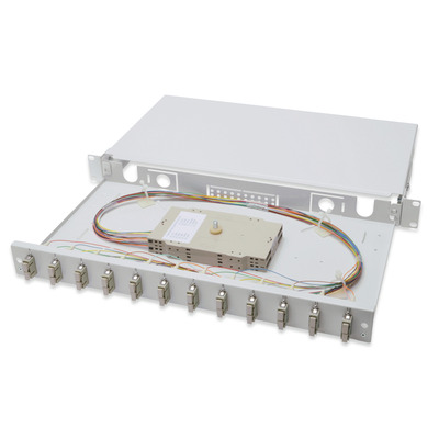 Digitus DN-96321 Fiber optic adapter - Grijs