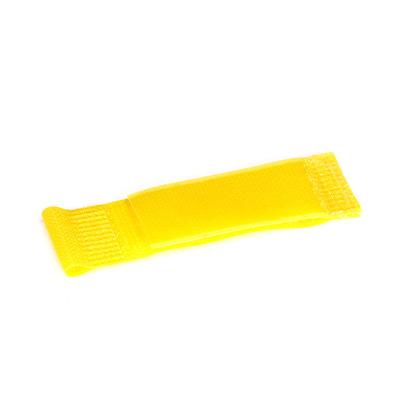 "Black Box Hook and Loop Cable Hanger - 1"" x 2 1/2"", Yellow, 10-Pack Kabelklem - Geel"