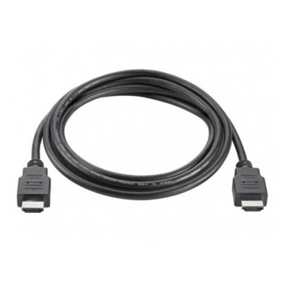 Hp HDMI kabel: HDMI Standard Cable - Zwart