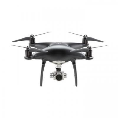 Dji drone: Phantom 4 Pro Obsidian Edition - Zwart, Roestvrijstaal