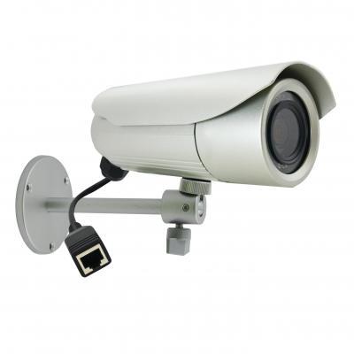 ACTi 1MP D/N, Adaptive IR, Basic WDR, Vari-focal Lens Beveiligingscamera - Wit