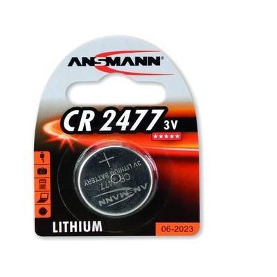 Ansmann batterij: 3V Lithium CR2477 - Zilver
