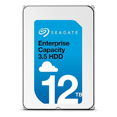 """Seagate Enterprise Capacity 12TB 7200rpm 3,5"""" SATA Interne harde schijf"""