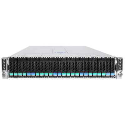 Intel Server Chassis H2224XXLR3 Behuizing - Zwart,Zilver