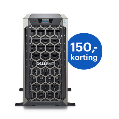 DELL PowerEdge T340 Server - Zwart