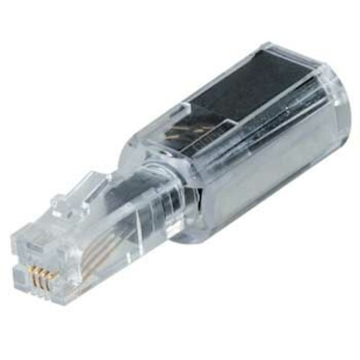 Hama kabel adapter: Antikrul voor telefoonsnoer