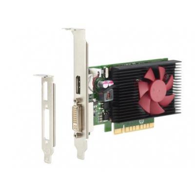 Hp videokaart: NVIDIA GeForce GT730 2GB PCIe x8