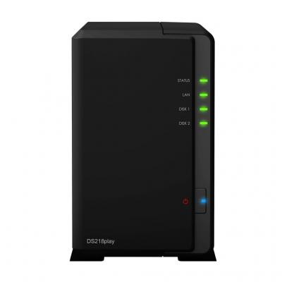 Synology DiskStation DS218play NAS - Zwart