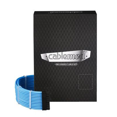 Cablemod C-Series PRO ModMesh Cable Kit for Corsair AXi/HXi/RM - Blauw
