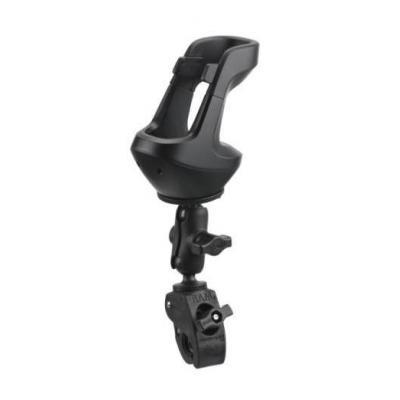 Zebra multimedia accessoire: Un-powered cart mount - Zwart