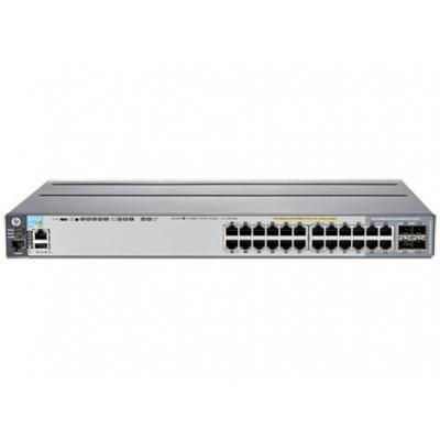 Hewlett Packard Enterprise switch: Aruba 2920 24G POE+ - Grijs (Refurbished LG)