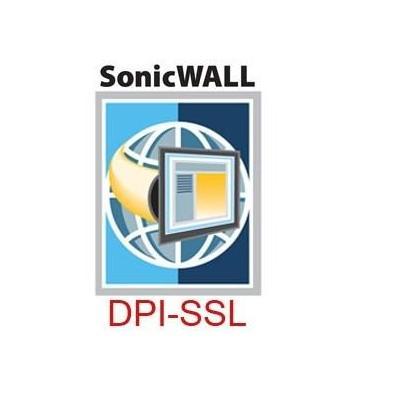 Dell software licentie: SonicWALL DPI-SSL For NSA E5500/E6500/5600/6600