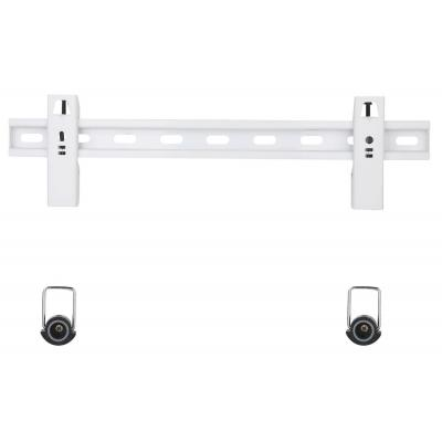 """Techly Slim Fixed Wall Bracket with Spacers LED LCD TV 23-55"""" White Montagehaak"""