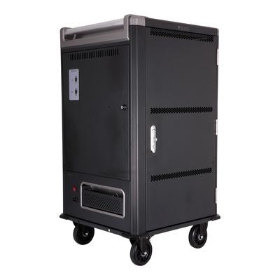 V7 CA05073 Portable device management carts & cabinet - Zwart, Grijs