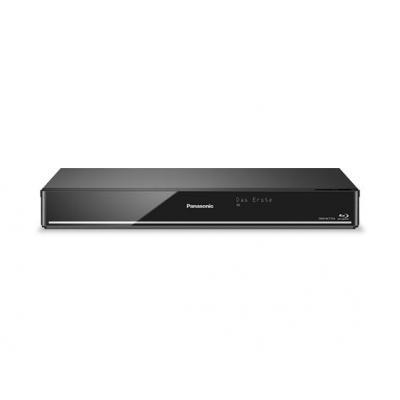 Panasonic Blu-ray speler: DMR-BCT750EG Blurayrec. Twin HD 500MB DVB-C - Zwart