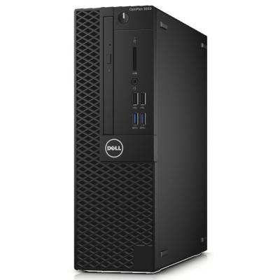 Dell pc: OptiPlex 3050 - Core i3 - 4GB RAM - 128GB - Zwart