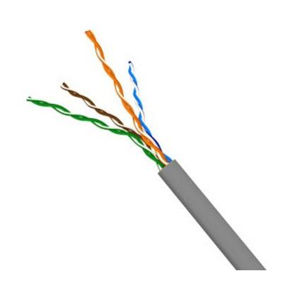 Molex PowerCat 5e 4 Pair PVC cable, U/UTP, 305 m, Grey Netwerkkabel - Grijs
