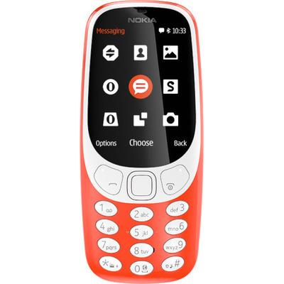 Nokia mobiele telefoon: 3310 - Rood