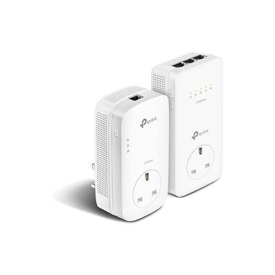 TP-LINK TL-WPA8630P KIT Powerline adapter - Wit