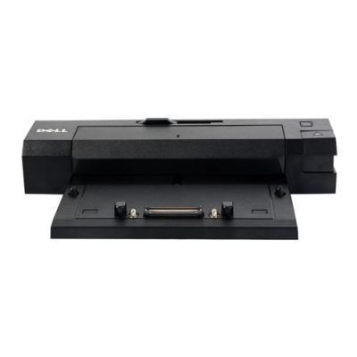 DELL Replicador E/Port II, USB 3.0, VGA, DVI-D, Seriell, Parallel, PS/2, eSATA, DisplayPort 1.2, RJ-45, 240 W, 1.05kg