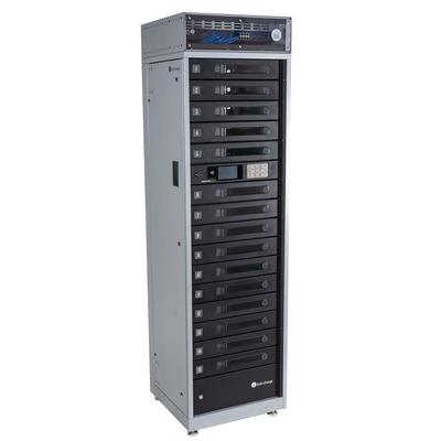 Lockncharge FUYL Tower 15 Portable device management carts & cabinet - Zwart,Grijs