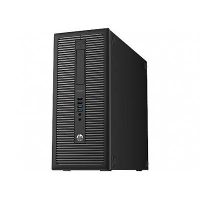 HP pc: ProDesk 600 G1 Tower - Zwart (Refurbished LG)