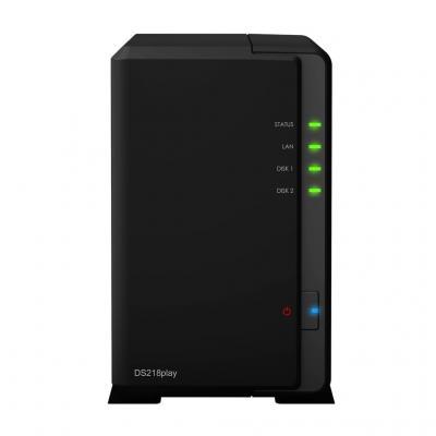 Synology DiskStation DS218PLAY NAS - Zwart