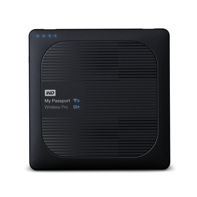 Western Digital My Passport Wireless Pro Externe harde schijf - Zwart