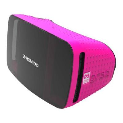 Homido virtual reality bril: Grab - Zwart, Roze