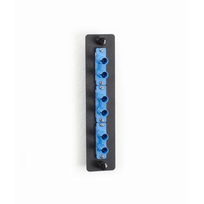 Black Box Fiber Adapter Panels Fiber optic adapter - Zwart,Blauw