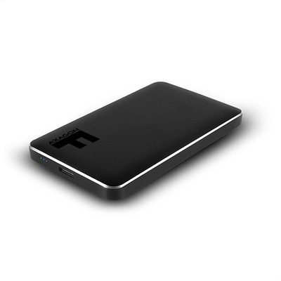 """Axagon EE25-F6B USB 3.0 FULLMETAL box, 2.5"""", black Behuizing - Zwart"""