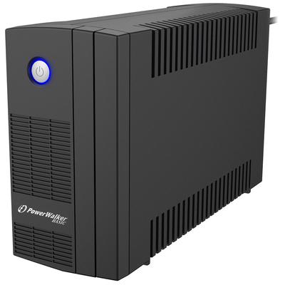 PowerWalker Basic VI 650 SB UPS - Zwart