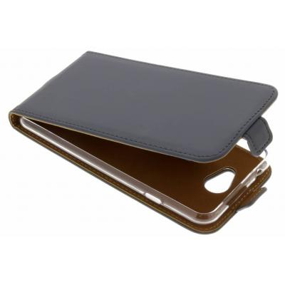 Luxe Softcase Flipcase General Mobile GM6 - Grijs / Grey Mobile phone case