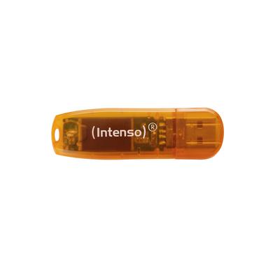 Intenso Rainbow Line USB flash drive - Oranje