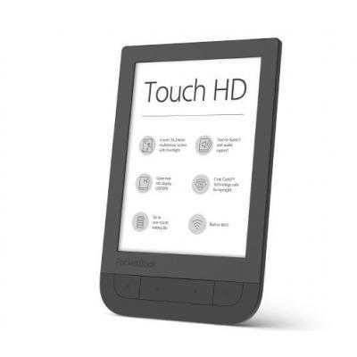 Pocketbook e-book reader: Touch HD - Zwart