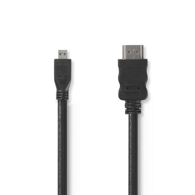 Nedis CVGP34700BK15 HDMI kabel - Zwart