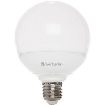 Verbatim led lamp: LED Globe E27, 7 W - Wit