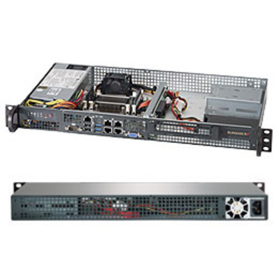 Supermicro SuperServer 5018A-FTN4 Server barebone - Grijs