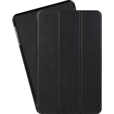 Azuri Ultra thin bookstyle case - zwart - voor Galaxy Tab A 2018 E-book reader case