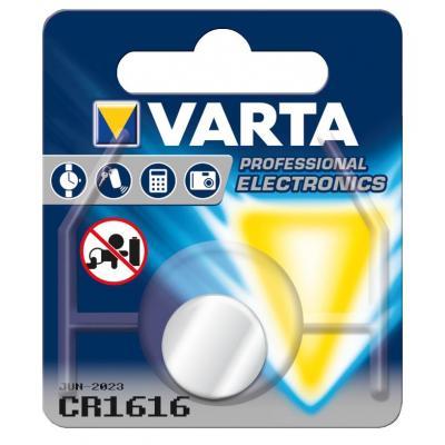 Varta batterij: -CR1616 - Zilver