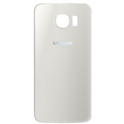 Samsung Battery Cover, White Mobile phone spare part - Wit