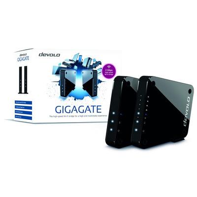 Devolo wifi-versterker: GigaGate Starter Kit - Zwart