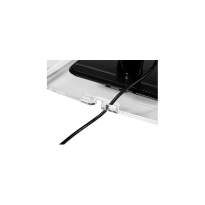 BakkerElkhuizen Q-riser 110 Monitorarm - Transparant