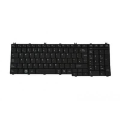 Toshiba notebook reserve-onderdeel: Keyboard (English), Black - Zwart