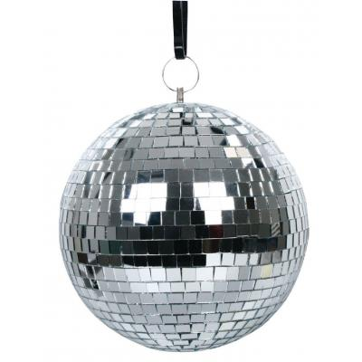 Valueline discobal: Mirror ball - Zilver