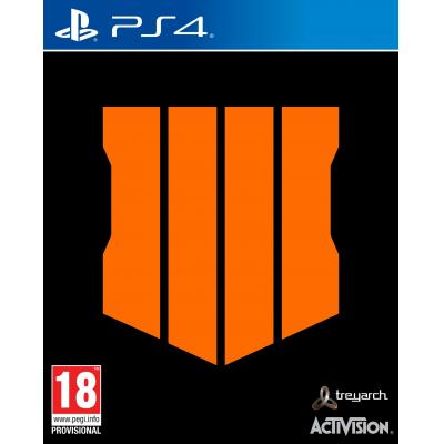 Activision game: Call of Duty: Black Ops 4  PS4