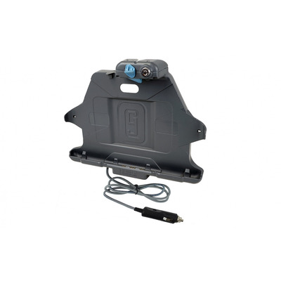 Gamber-Johnson 2x USB 2.0, 1.5A, 215x266x63.5 mm Mobile device dock station - Zwart